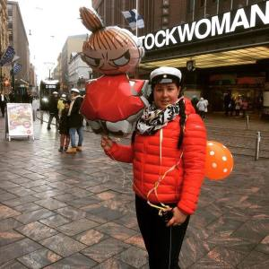 Vappu, Helsinki, Moomin