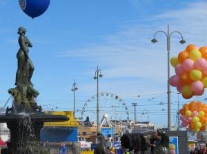 Havis Amanda statue in Helsinki Finland
